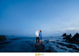 corona del mar beach engagement photos | tanuka and jeff