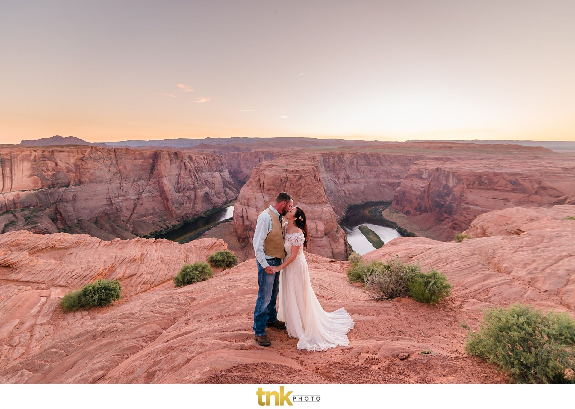 Horseshoe Bend Wedding Photos