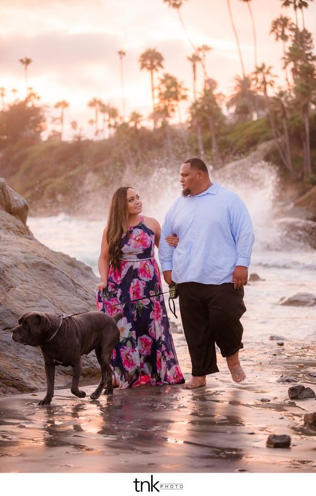 Laguna Beach Engagement Photos