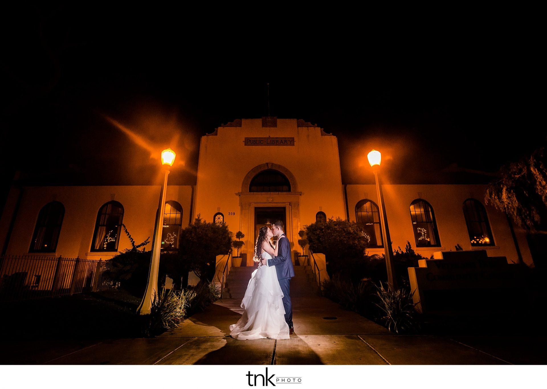 Redondo Beach Historic Library Wedding Photos